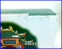 2008 Department 56 CHRISTMAS IN THE CITY SERIES WELCOME TO CHINATOWN #807253