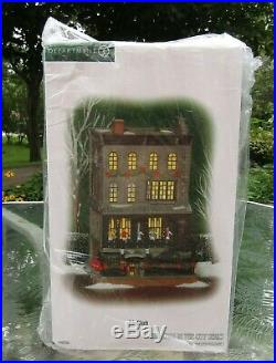 2008 Department 56 Christmas In The City 21 CLUB #805535 UNUSED NRFB Retired NOS