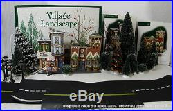 3-PC DEPT 56 CHRISTMAS IN THE CITY DeFazio's Pizzeria, Sterling Jewelers, Trees