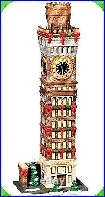 Baltimore Arts Tower Dept 56 CIC 59246 retired Christmas Historical Landmark NIB