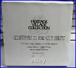 Cathedral Church of St. Mark Christmas In the City Dept 56 1991