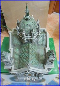 Cathedral Of St. Paul / Department 56 /(Edition Patina Dome) withbox