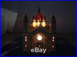 Cathedral Of St Paul (Patina Dome) WithLandscape Christmas In The City Dept 56