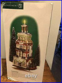 Christmas In The City Department 56 Paramount Hotel New & In Original Box