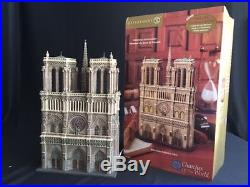 Department 56 Notre Dame Cathedral Paris Churches Of The World Bnib 57601
