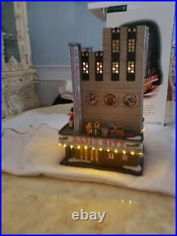 DEPARTMENT 56 RADIO CITY MUSIC HALL CHRISTMAS IN THE CITY Lighted