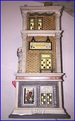 DEPT 56 2005 WOOLWORTH'S Christmas In The City Series 59249 VERY RARE No Box