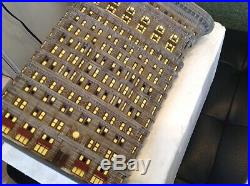 DEPT 56 A CHRISTMAS IN THE CITY FLATIRON BUILDING Mint No Original Box