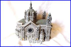 DEPT 56 CATHEDRAL CHURCH OF ST PAUL With PATINA DOME CHRISTMAS IN THE CITY IN BOX