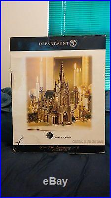 Dept 56 Cathedral Of St. Nicholas Xmas In The City # 59248