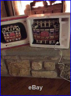 DEPT 56 CHICAGO CUBS WRIGLEY FIELD Lighted CHRISTMAS IN THE CITY