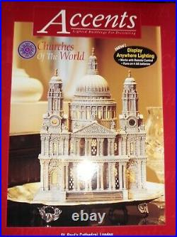DEPT 56 CHRISTMAS IN CITY Churches Of The World ST. PAUL'S CATHEDRAL, LONDON NIB
