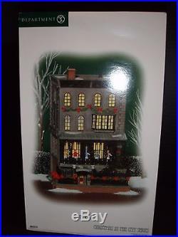 Dept 56 Christmas In The City 21 Club New York Restaurant # 805535 Brand New