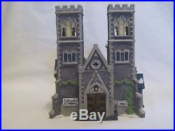 Dept 56 Christmas In The City Cathedral Church Of St Mark Ltd Ed