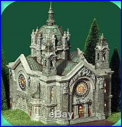 Dept 56 Christmas In The City Cathedral Of St. Paul # 58930 Brand New