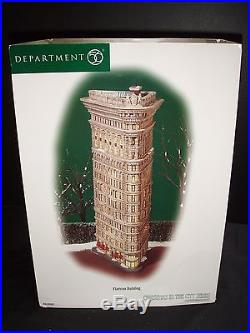 Dept 56 Christmas In The City Flatiron Building # 59260 Brand New