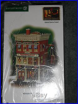 DEPT 56 CHRISTMAS IN THE CITY HAMMERSTEIN PIANO NIB Read