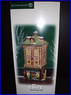 Dept 56 Christmas In The City Havana's Cigar Shop 805534 Brand New