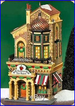 Dept 56 Christmas In The City Russian Tea Room # 59245 Very Rare Brand New