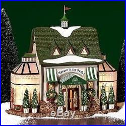DEPT 56 CHRISTMAS IN THE CITY TAVERN IN THE PARK Restaurant NEW