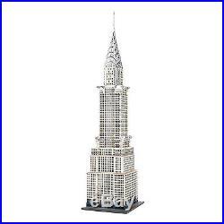 Dept 56 Christmas In The City The Chrysler Building # 4030342 Brand New