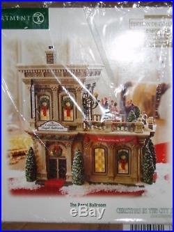DEPT 56 CHRISTMAS IN THE CITY THE REGAL BALLROOM NIB Still Sealed