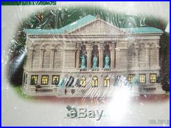 DEPT 56 CHRISTMAS IN THE CITY Village ART INSTITUTE OF CHICAGO NIB Read