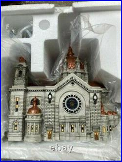 DEPT 56 Christmas In City CATHEDRAL OF SAINT PAUL Copper Roof EVENT PIECE NIB