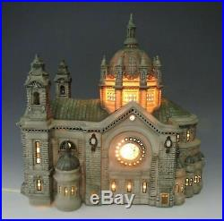 DEPT 56 Christmas In The City CATHEDRAL OF ST. PAUL PATINA Dome Addition withBox