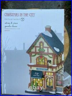 DEPT 56 Christmas In The City STEMS & VINES GARDEN HOUSE NIB