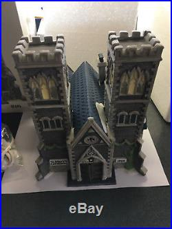 DEPT 56 Christmas in the City CATHEDRAL CHURCH of ST MARK #55492 Low #216 withBox