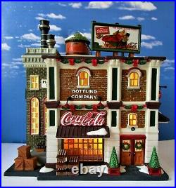DEPT 56 Christmas in the City COCA-COLA BOTTLING COMPANY