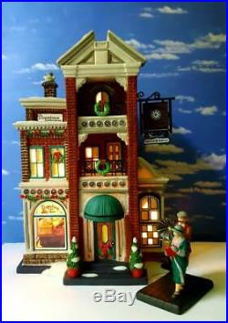 DEPT 56 Christmas in the City DOWNTOWN RADIOS & PHONOGRAPHS Plus NEW PHONOGRAPH