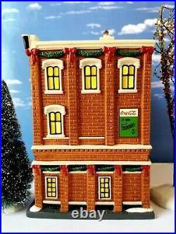 DEPT 56 Christmas in the City JACOBS' PHARMACY! Hard To Find, No Box, Jacob's