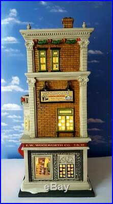 DEPT 56 Christmas in the City WOOLWORTH'S! New, Rare