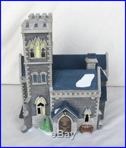 Dept 56 Limited Ed 5549-2 Cathedral Of St. Mark Retired 1993 In Original Cover