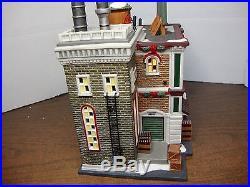 Dept 56 Village As Is Christmas Xmas City Coca-cola Bottling Company 56.59258