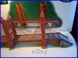 Depart 56 Golden Gate Bridge Historical Landmark series Christmas in the city