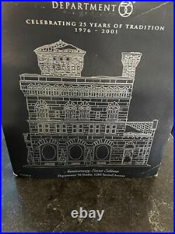 Department 56 1200 Second Avenue Christmas in the City RARE Anniversary Edition