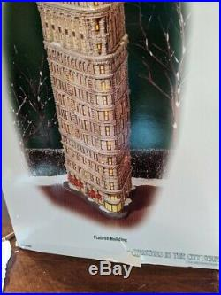 Department 56 #59260 Flatiron Building Christmas In The City Landmark New York