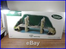 Department 56 Brooklyn Bridge NY Historical Landmark 59247 Christmas In The City