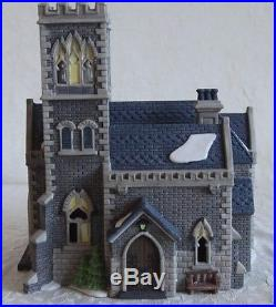 Department 56 C. I. T. C CATHEDRAL CHURCH OF ST. MARK RARE- Ret1992 #55492