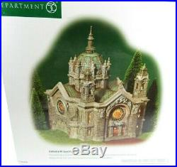 Department 56 CATHEDRAL OF SAINT PAUL Landmark Christmas in the City (58930) EUC