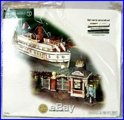 Department 56 Christmas In The City 2003 East Harbor Ferry 59213