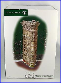 Department 56 Christmas In The City 59260 FLATIRON BUILDING New In Box