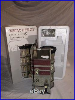 Department 56 Christmas In The City 64 City West Parkway RETIRED