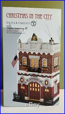 Department 56 Christmas In The City Engine Company 10 Retired 4020172