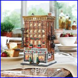 Department 56 Christmas In The City Ferrara Bakery & Caf