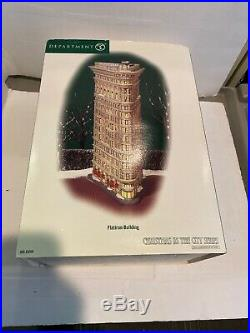 Department 56 Christmas In The City Flatiron Building 59260. Never Displayed New