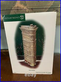 Department 56 Christmas In The City Flatiron Building NEW IN BOX Retired Rare
